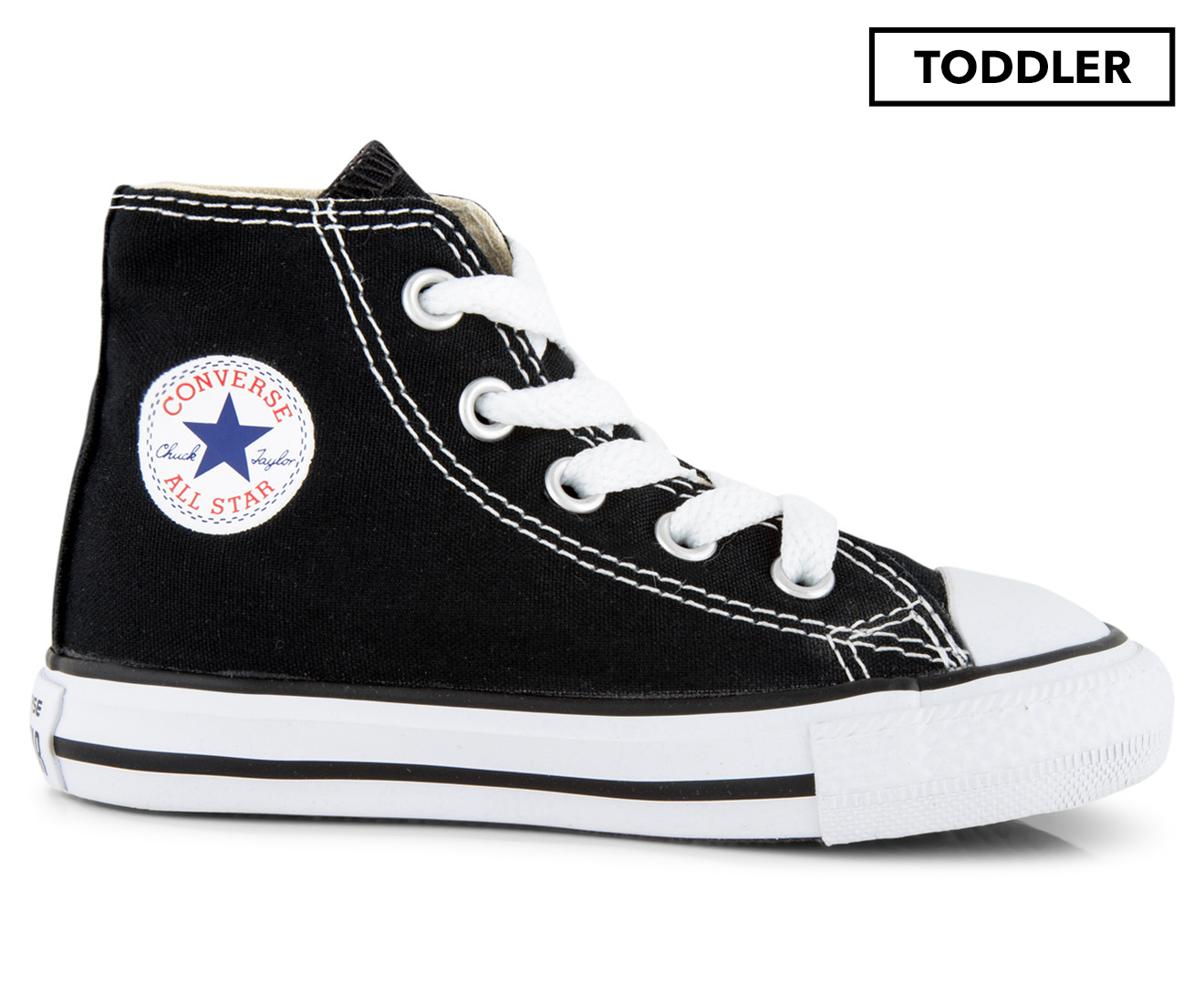 Details about Converse Toddler Chuck Taylor All Star High Top Shoe Black