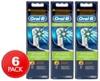 3 x Oral-B CrossAction Replacement Brush Heads 2pk 1
