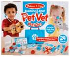 Melissa & Doug Examine & Treat Pet Vet Play Set 1