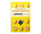 6 Pieces x Etude House 0.2 Therapy Air Mask #Lemon - Brightening & Moisture - Korean Face Mask Sheet 1