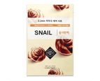 6 Pieces x Etude House 0.2 Therapy Air Mask #Snail - Smoothing & Firming - Korean Face Mask Sheet 1