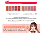 Peripera Peri's Ink The Velvet #11 Spring Orange 8g Lip Tint Stain 4