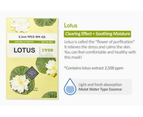 6 Pieces x Etude House 0.2 Therapy Air Mask #Lotus - Soothing & Purifying - Korean Face Mask Sheet 2