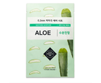 6 Pieces x Etude House 0.2 Therapy Air Mask #Aloe - Soothing & Moisture - Korean Face Mask Sheet 1