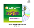 2005 Sunfly Karaoke Kool - CD+G - Aussie Radio Hits Vol 004 1