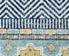 Rug Culture 230x160cm Oasis 455 Power Loomed Rug - Navy/Yellow/Grey 4