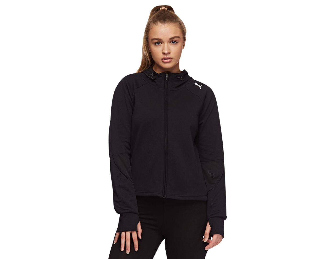 5da01e62a69a Puma Women s Evostripe Full Zip Jacket - Puma Black