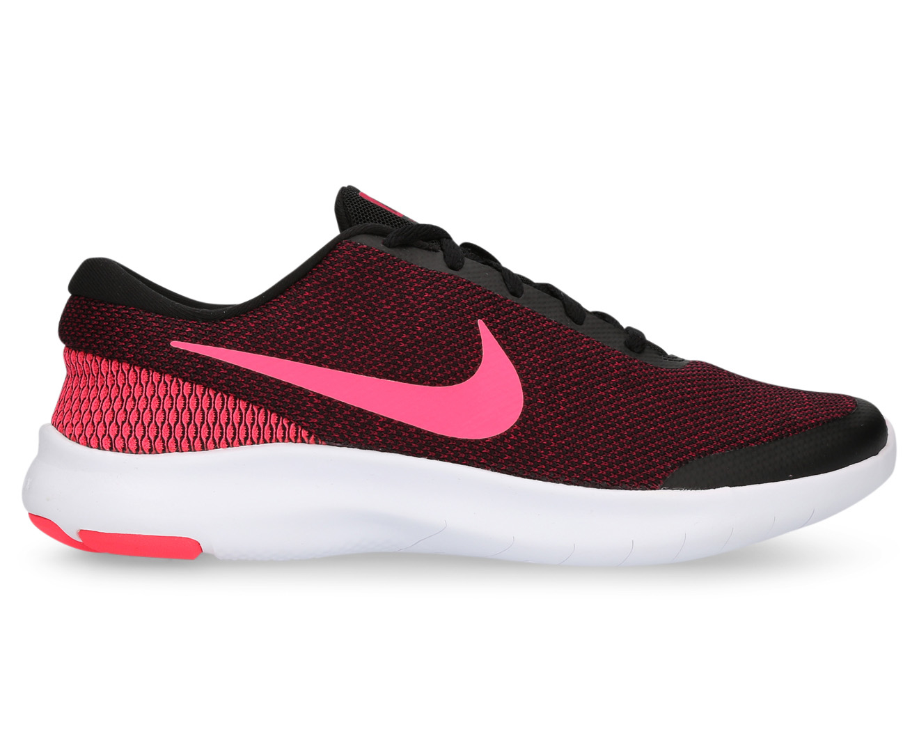30f364ad78c52 Nike Women s Flex Experience RN 7 Shoe - Black Racer Pink Wild Cherry