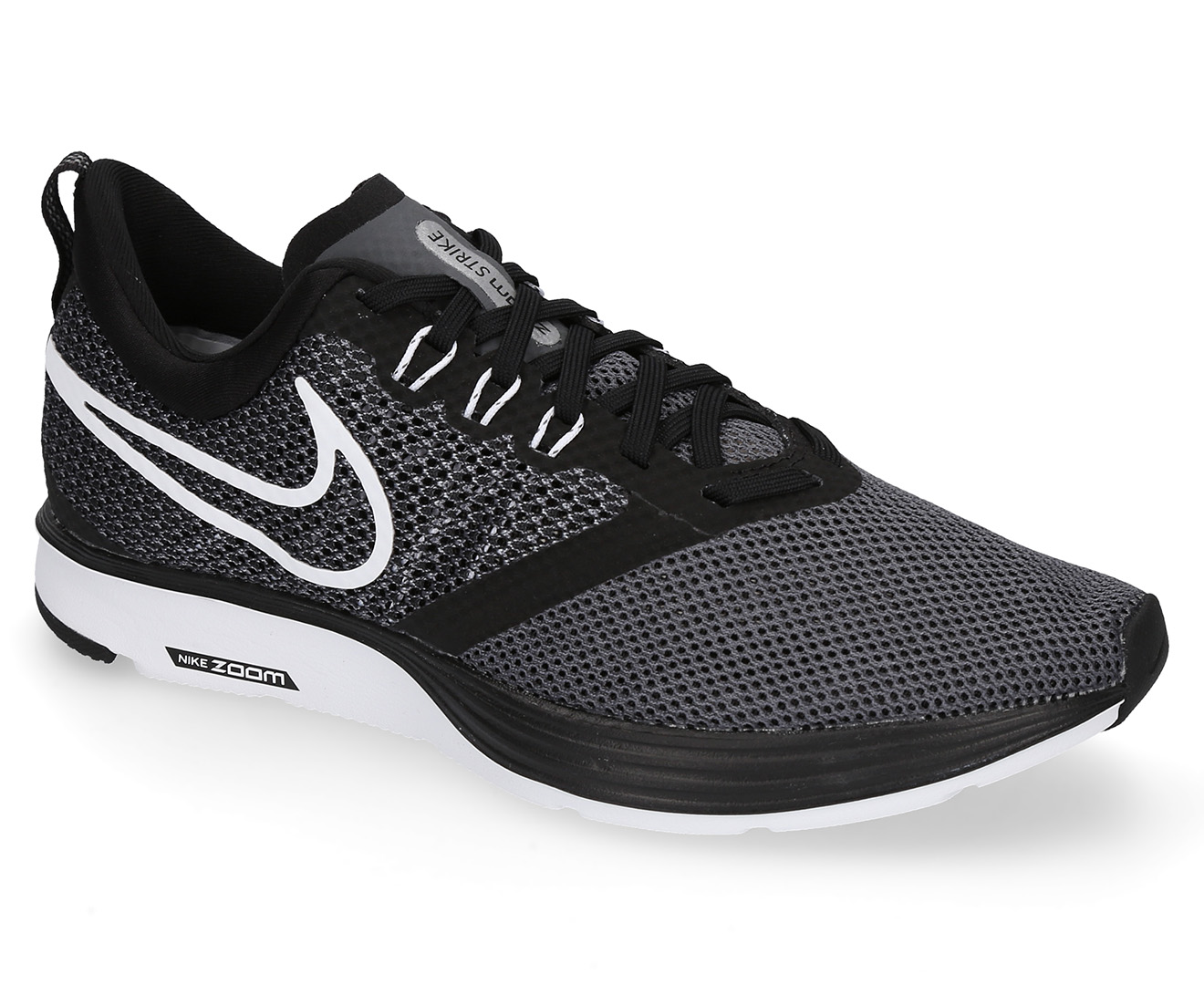 66549a1985e48f Nike Women s Zoom Strike Shoe - Black White Dark Grey