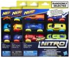 NERF Nitro Foam Car 6-Pack - Multi 4