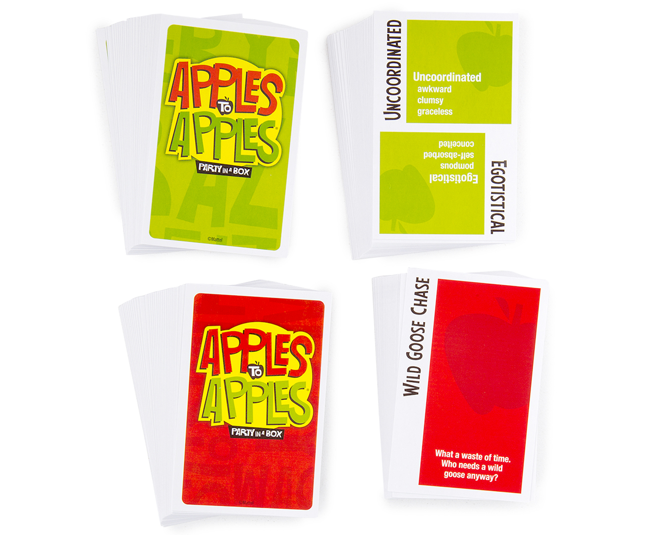 Mattel Apples To Apples Party In A Box Game | CatchOfTheDay.co.nz