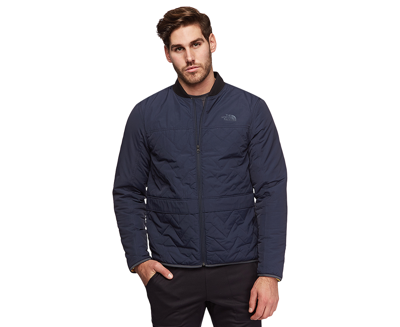fbb9bbd43a43 The North Face Men s Westborough Insulated Bomber Jacket - Urban Navy