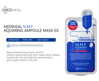 10 Pieces x Mediheal N.M.F Aquaring Ampoule Face Mask 2