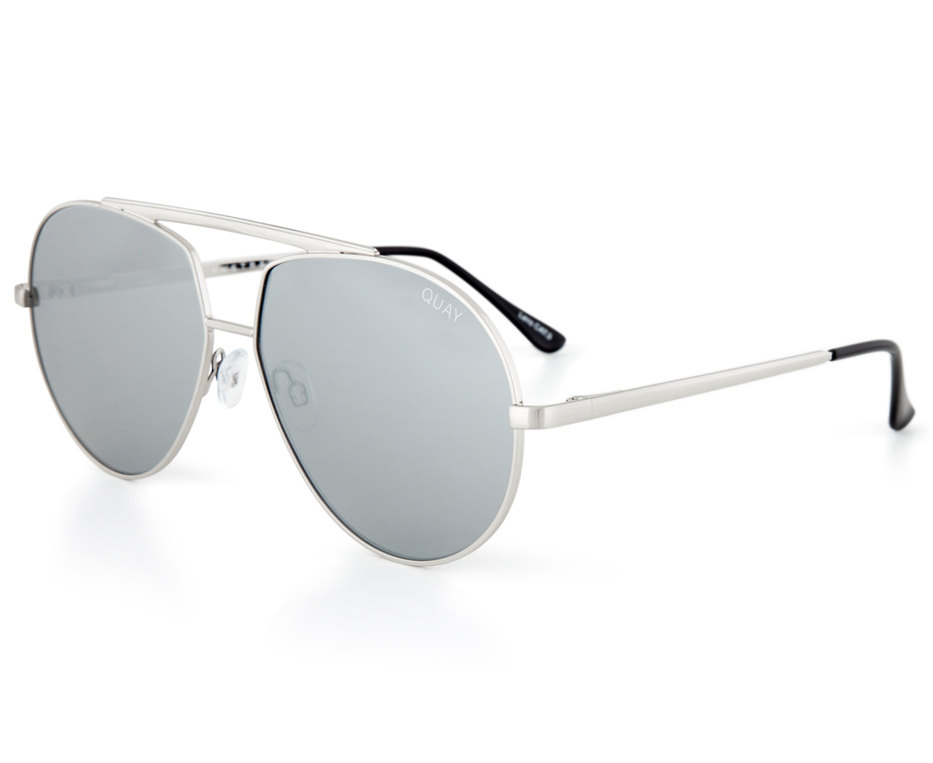 846a891697 Quay Australia Blaze Sunglasses - Silver Silver