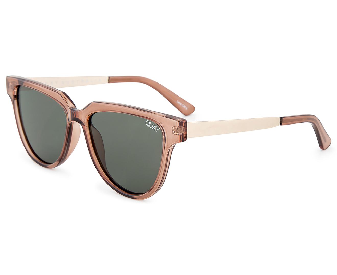 0b30d62eb9b Quay Australia Women s Prime Time Sunglasses - Toffee Green