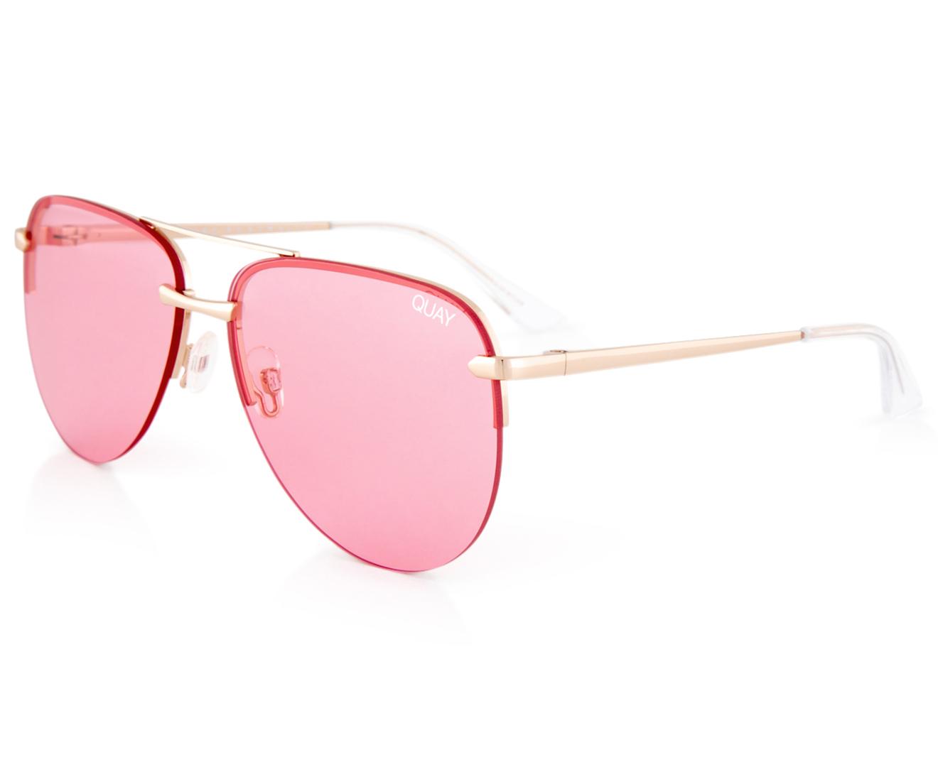 c7ff892c20d Quay Australia Women s The Playa Sunglasses - Rose Gold Pink ...