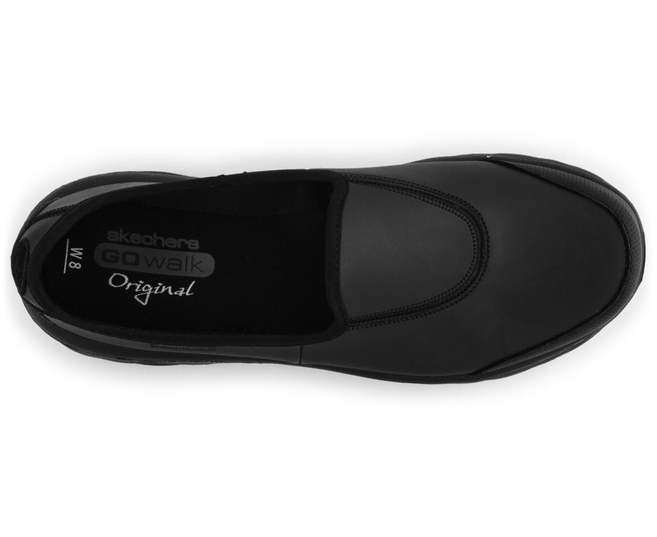 c4e642a6a08 Skechers Women's GoWalk Undercover Shoe - Black   Catch.com.au