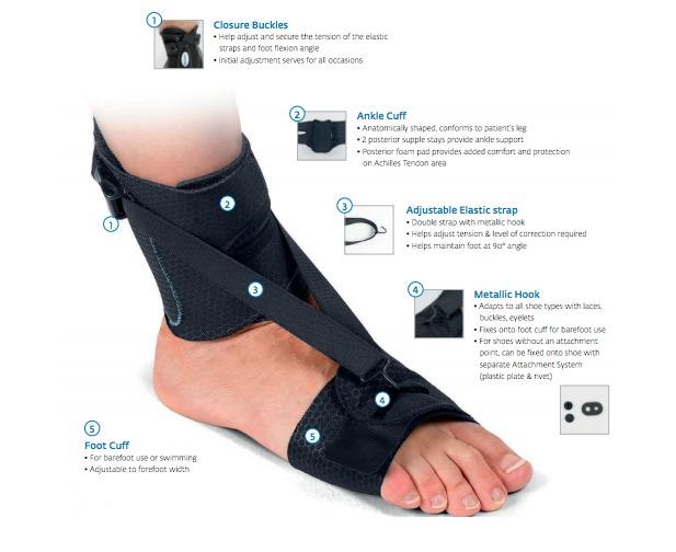 ca331511c9 Foot Drop Braces Aircast PodaLib AFO - Drop Foot Orthotics Ankle Foot  Support | Catch.com.au