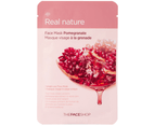 5 x The Face Shop Real Nature #Pomegranate Sheet Mask 1
