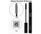 Missha The Style 4D Mascara 7g Square Black 3