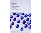5 x The Face Shop Real Nature #Blueberry Sheet Mask 1