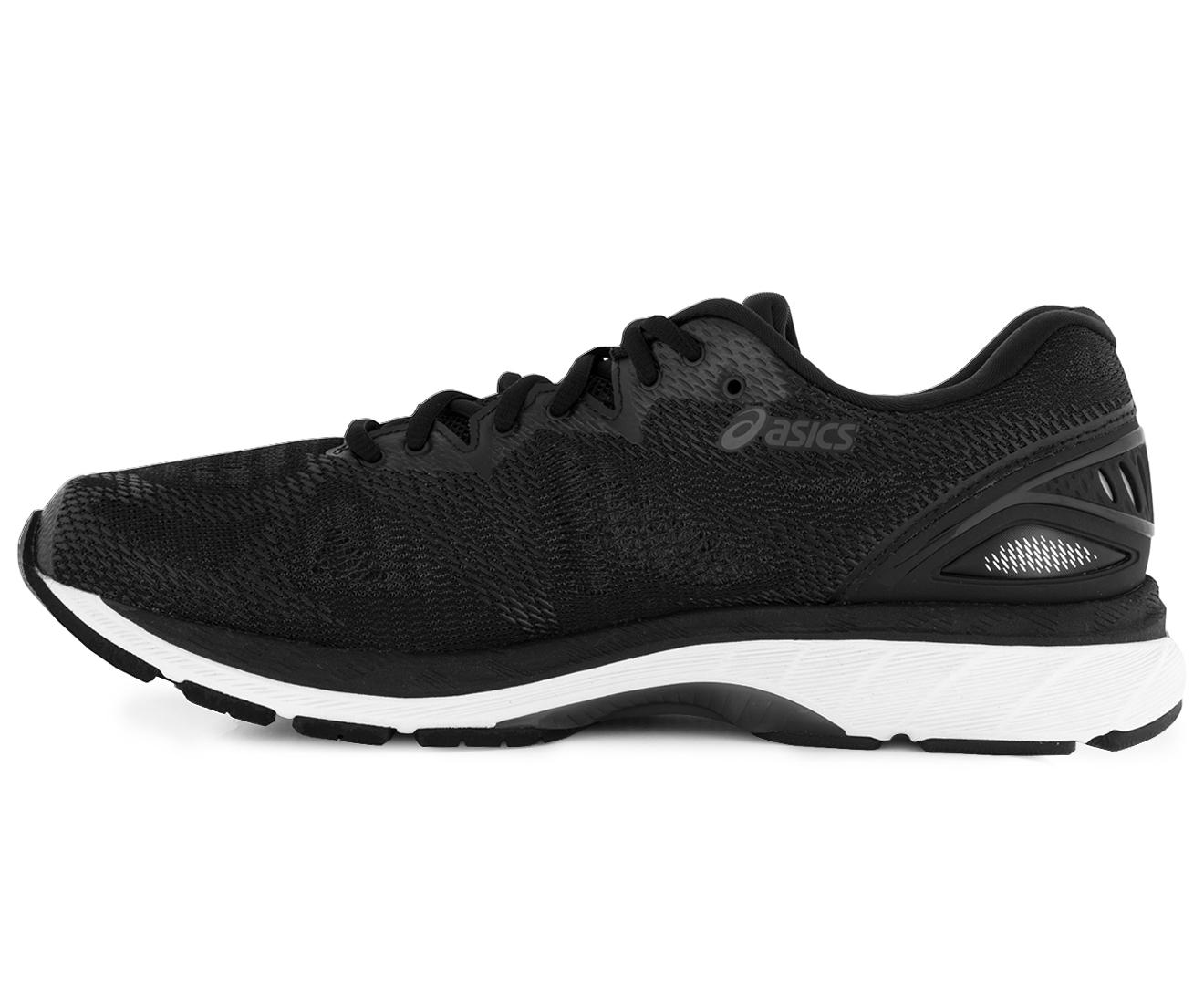 11d72456195a ASICS Men s GEL-Nimbus 20 Wide (2E) Shoe - Black White Carbon