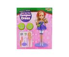 Designer Dress Fashion Doll in Purple 1