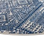 Rug Culture 240x240cm Mirage 351 Power Loomed Rug - Navy 3