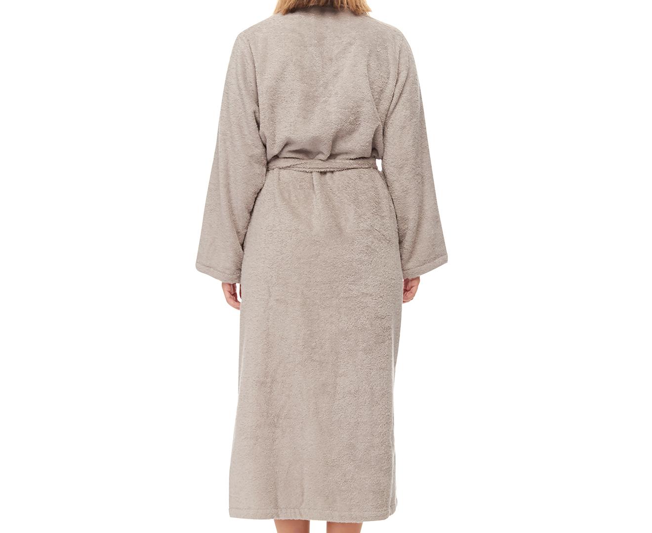 2a818d0d1e Sheridan Elissa Luxury Egyptian Spa Robe - Grey