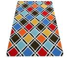 Modern Handmade Wool Rug - Texture2017 - Multi 4