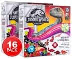 2 x Jurassic World Iddy Biddy Fruity Bits Mixed Berry 160g 1