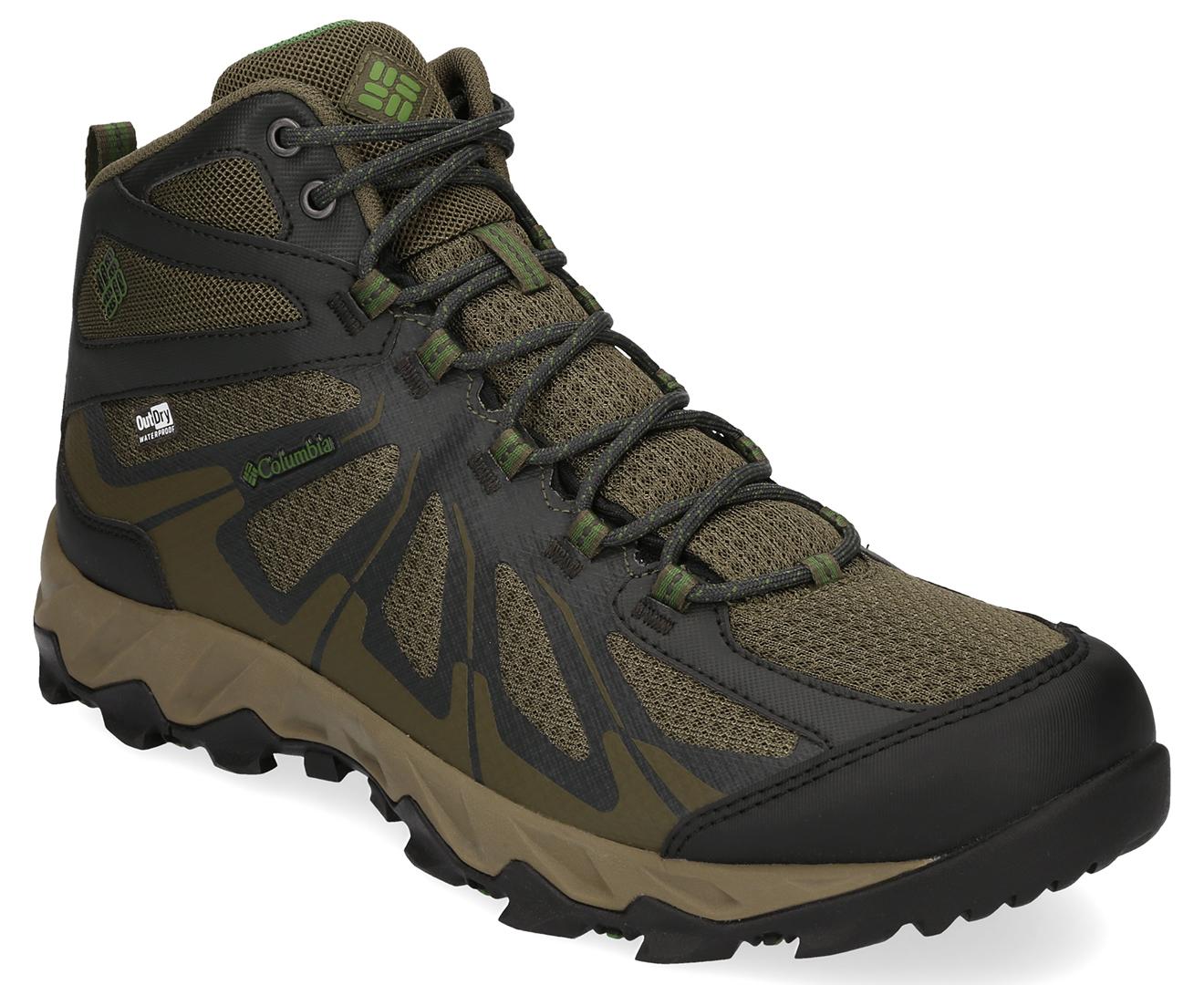 1e7a5cd0b30 Columbia Men's Peakfreak XCRSN II XCEL Mid Outdry Hiking Boot - Nori ...
