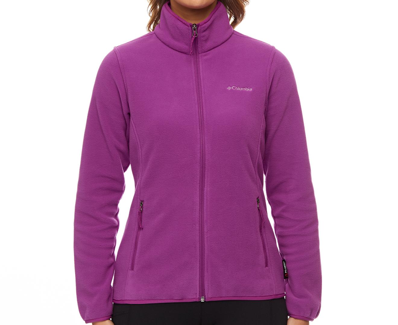 81d611c346260 Columbia Women s Fuller Ridge Fleece Jacket - Intense Violet