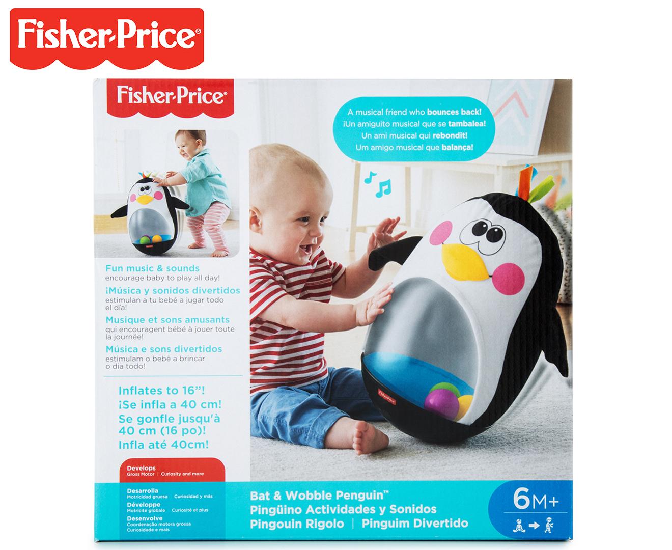Fisher-Price Go Baby Go! Bat & Wobble Penguin   BIG W  Fisher Price Bat Wobble