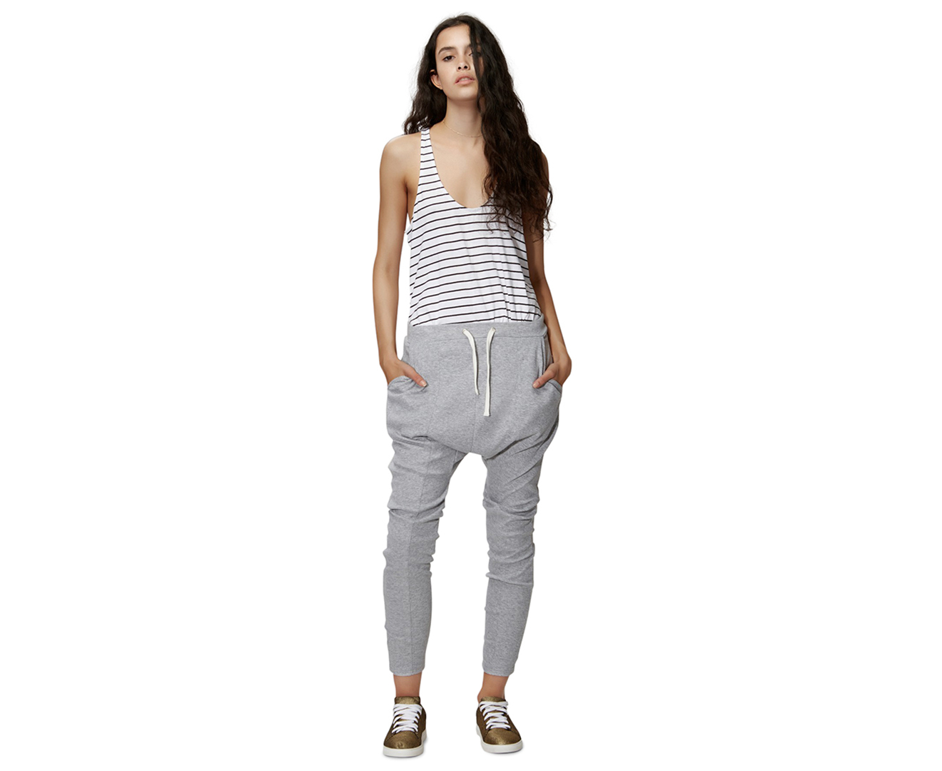 5f1c8870f5 The Fifth Label Women s Fly With Me Pants - Grey Marle