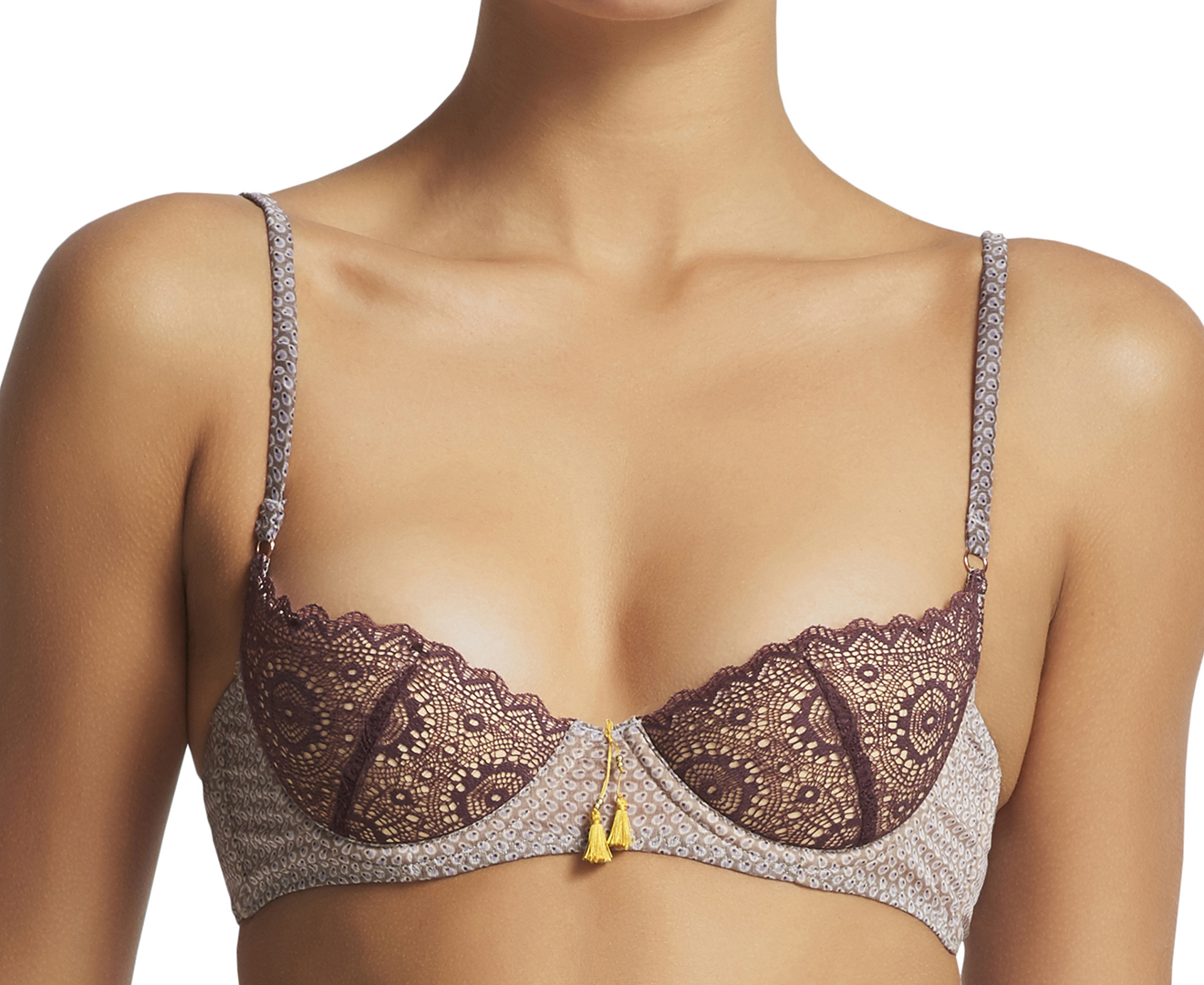 95b4adfd701b Elle Macpherson Body Breeze Balconette Bra - Purple Desert Dot |  Catch.com.au