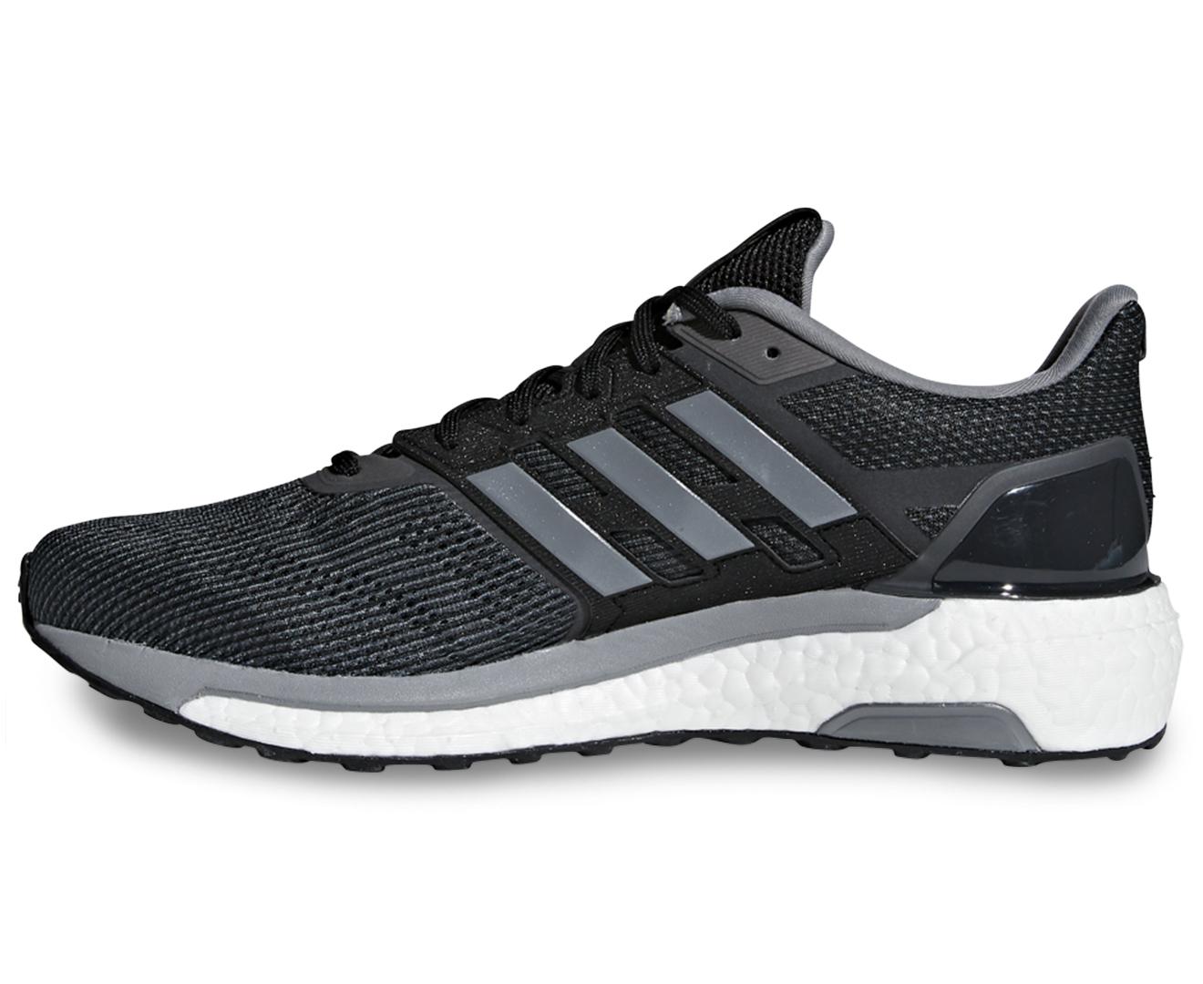 25d3d3655 Adidas Men s Supernova Shoe - Core Black Grey Three