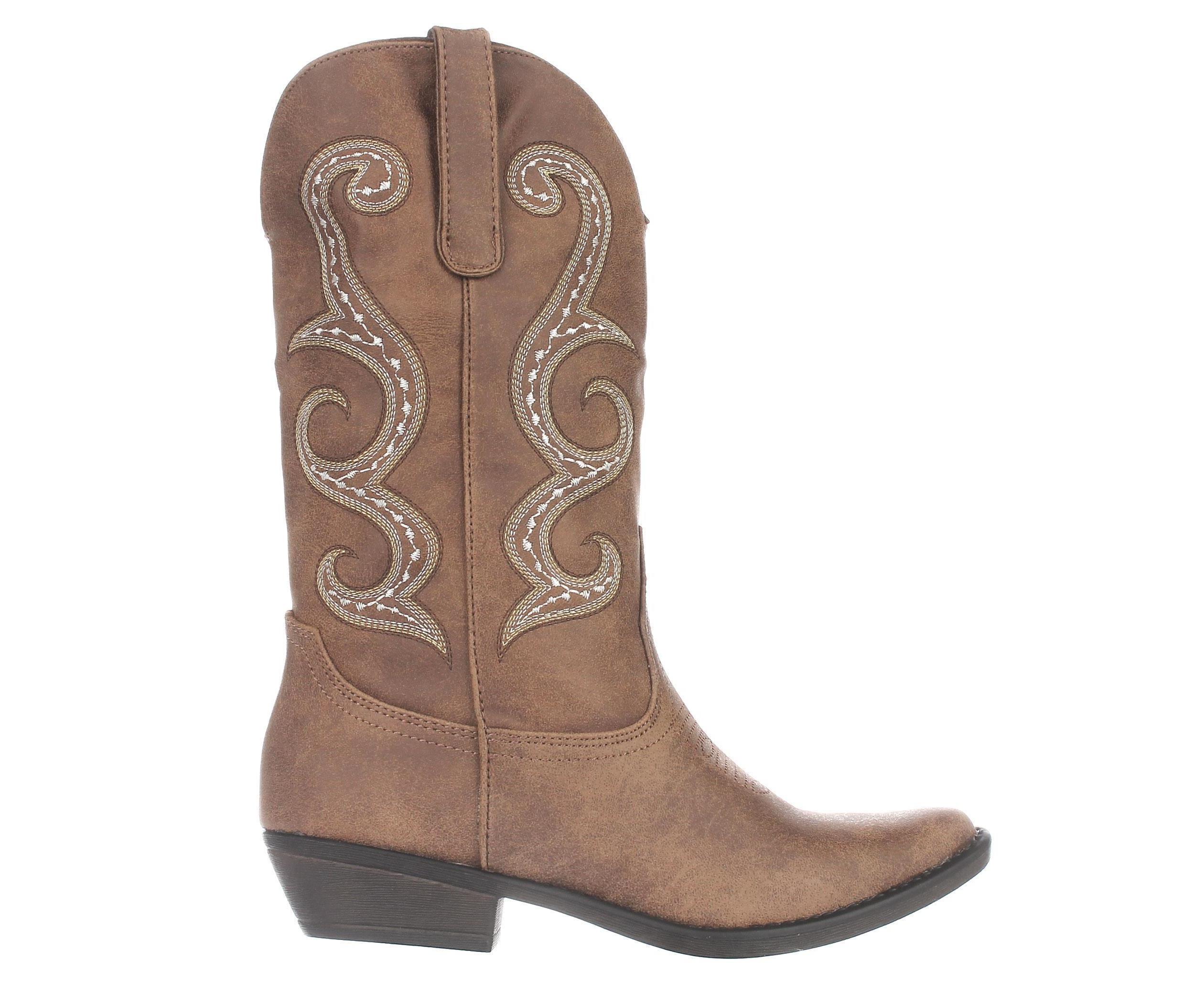 50a2ede8f82 AR35 Dawnn Cowgirl Western Boots, Natural