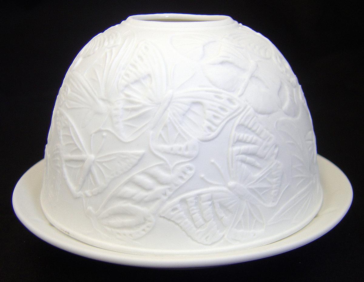 Light Glow Dome Tealight Holder Christmas Barn Candle Tea Light Home Gift