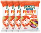 4 x The Natural Confectionery Co. Fruity Chew 220g 1