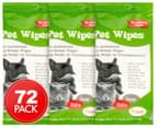 3 x Durmaz Premium Pet Wipes 24pk 1