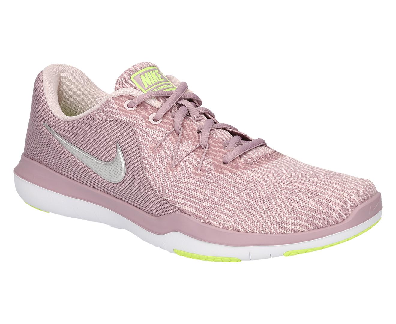 8eef222c6daa5 Nike Women s Flex Supreme TR 6 Shoe - Elemental Rose Metallic Silver ...