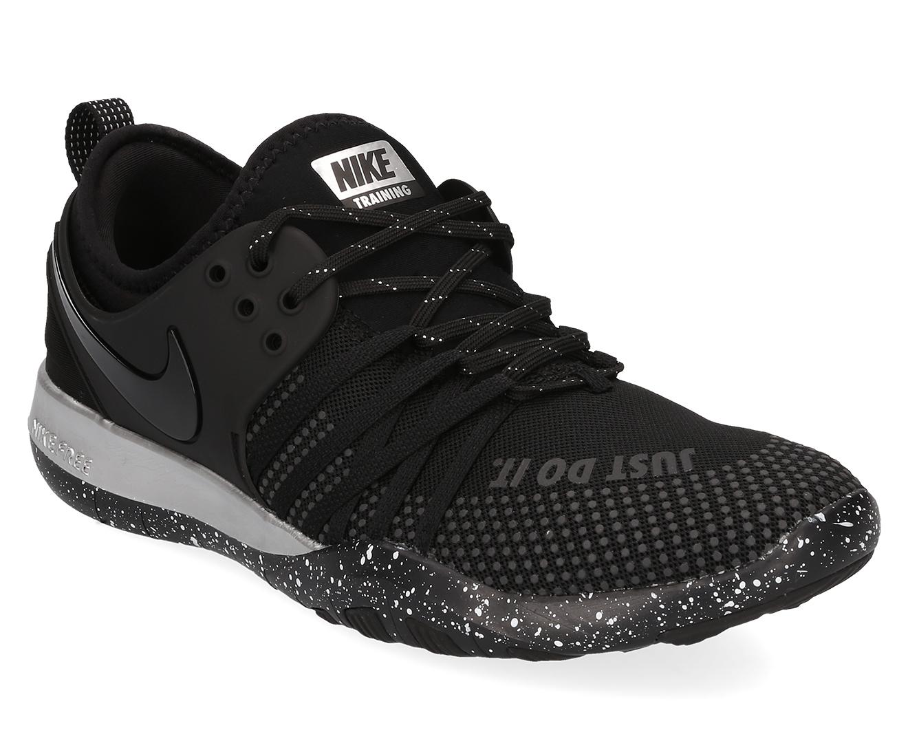 082e71e41560 Nike Women s Free TR 7 Selfie Shoe - Black Black-Chrome