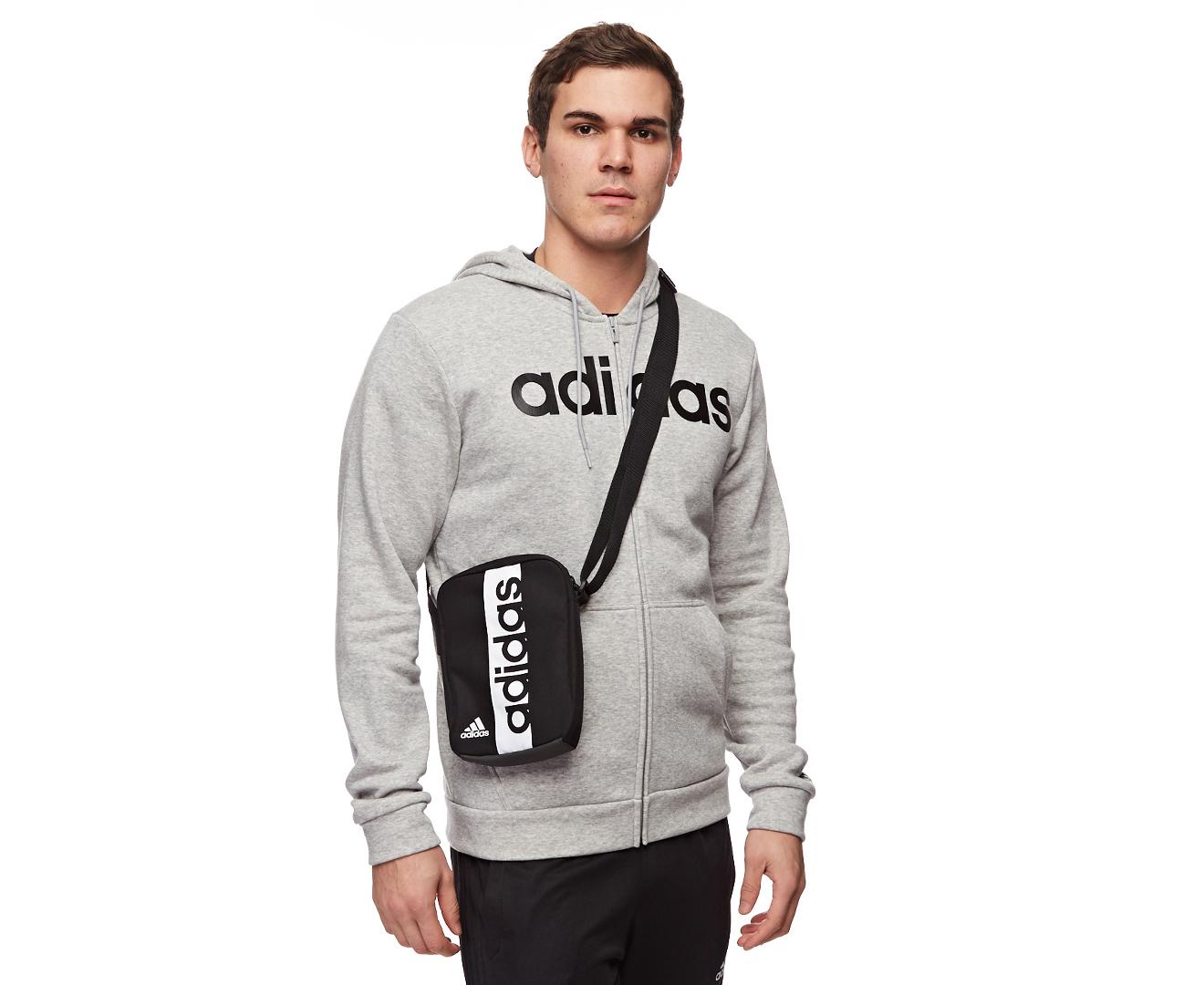 adidas | Essentials Linear Zip Hoodie | Nordstrom Rack