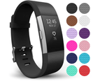 Yousave Fitbit Charge 2 Strap Single (Large) - Black 1