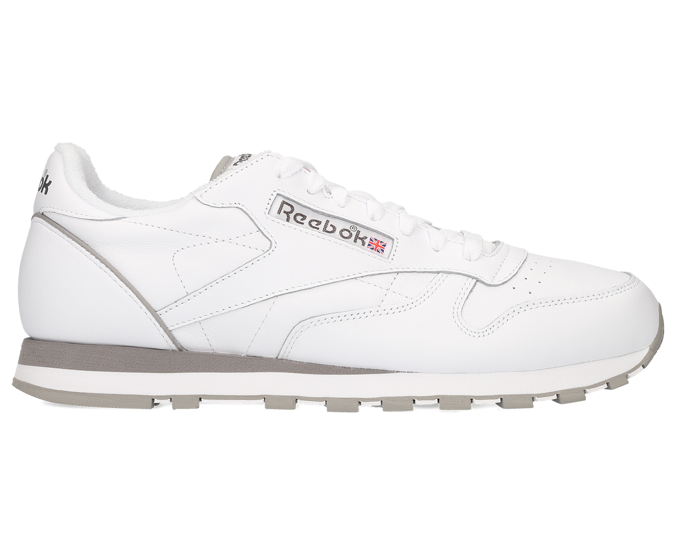 a60cc71ac15 Reebok Men s Classic Leather Archive Shoe - White Carbon Red Grey ...