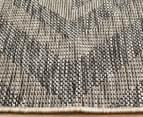 Rug Culture 400x300cm Terrace Geometric Diamond Rug - Black 4