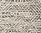 Rug Culture 230x160cm Terrace Geometric Diamond Rug - Natural 5