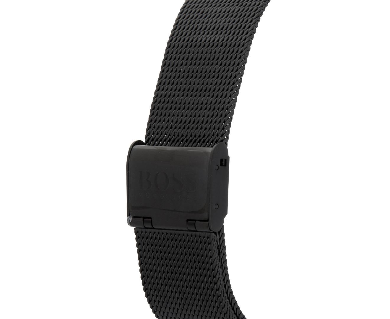 ea6b778a85e4f Hugo Boss Men s 40mm Horizon Stainless Steel Watch - Black Black ...