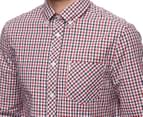Ben Sherman Men's House Check Shirt - Blue Depths 5